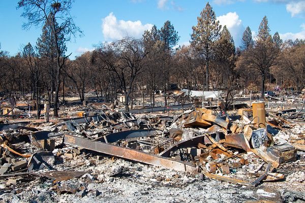 Paradise Fire Aftermath