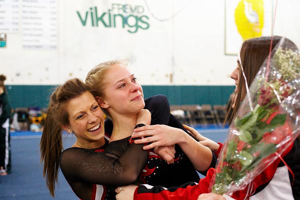 2009.02.03 - Girls' Gymnastics - Niles West @ Regionals