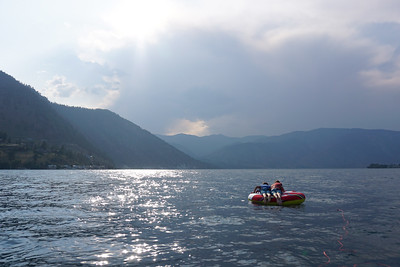 Boating in Chelan