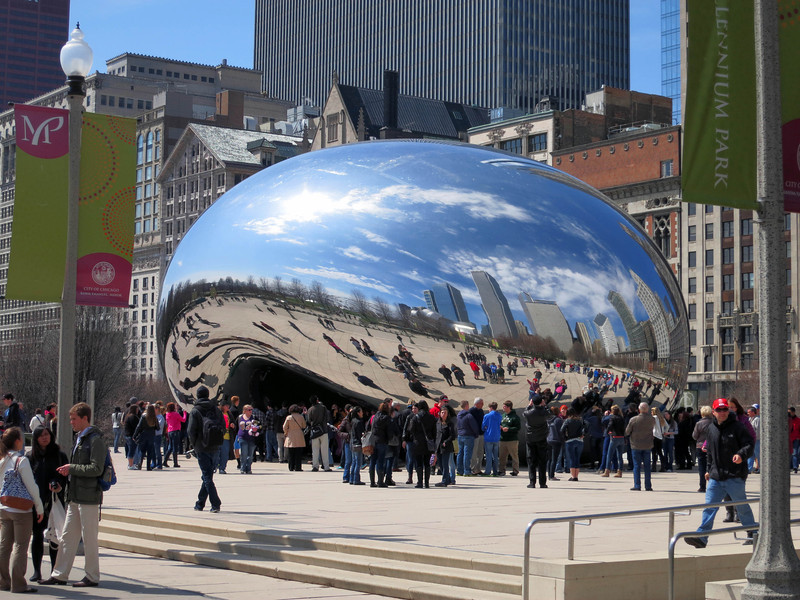 9-Cloud Gate at Millennium Park