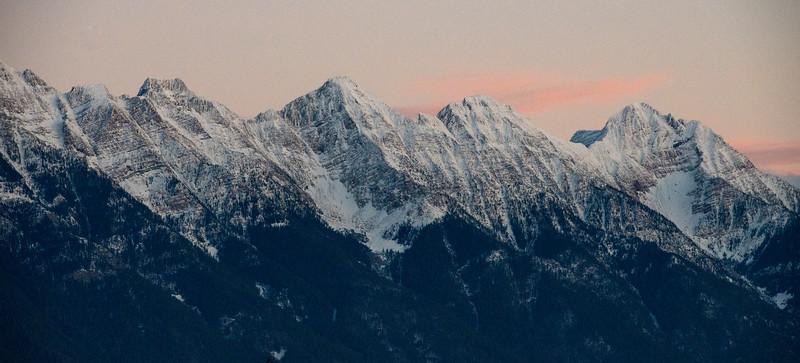 Winter Ridgeline