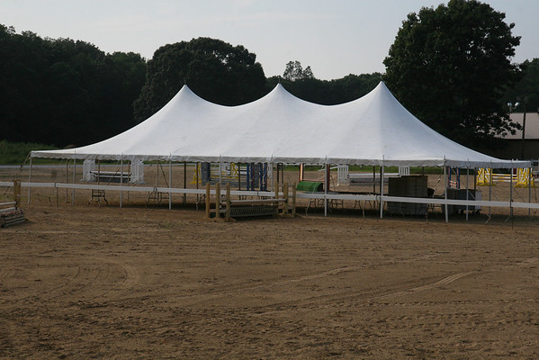2009 CHSA FInals - Tent Is Up!