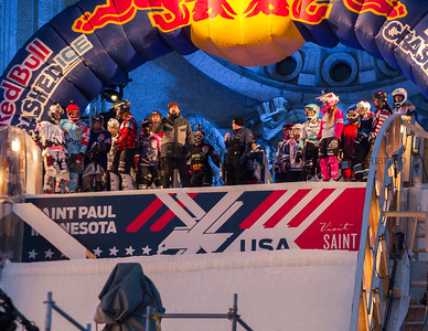 Red Bull Crashed Ice 2018 St. Paul MN