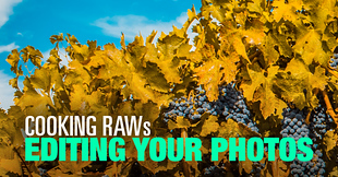(#3) Cooking RAWs – Editing Your Photos Challenge