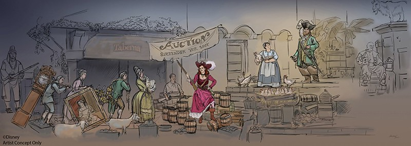 Disney Parks updating 'Pirates of the Caribbean' attraction for modern sensibilities