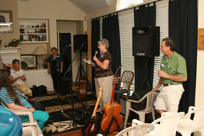 August 7, 2010 House Concert
