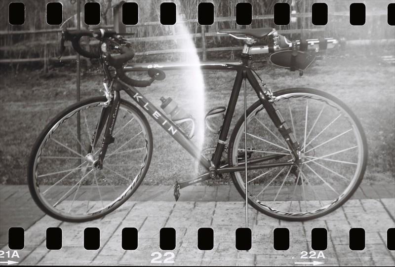 Pocket Kodak 1896 Model - Kodak T-Max 100, 35mm film