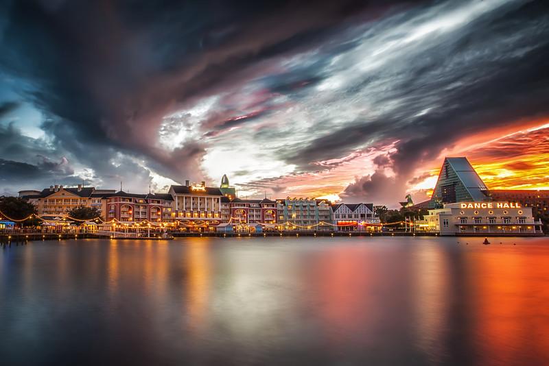 Sunset Disney Style