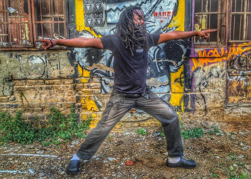 Ethiopian Tel Aviv Warrior ~ Israel