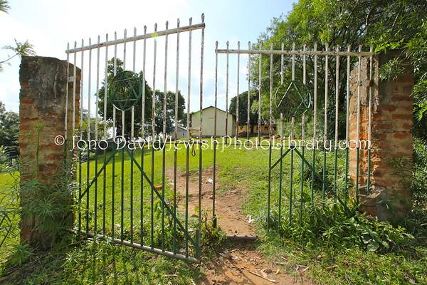 UGANDA, Mbale District, Nabugoye Village. Semei Kakungulu High School. Abayudaya Jews. (8.2013)