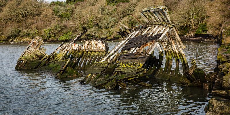 Hooe Lake Wrecks 3