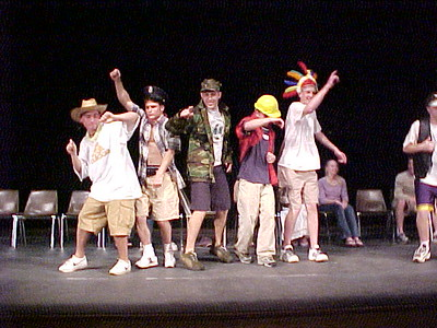King Philip High School Graduation Party... June 2, 2001