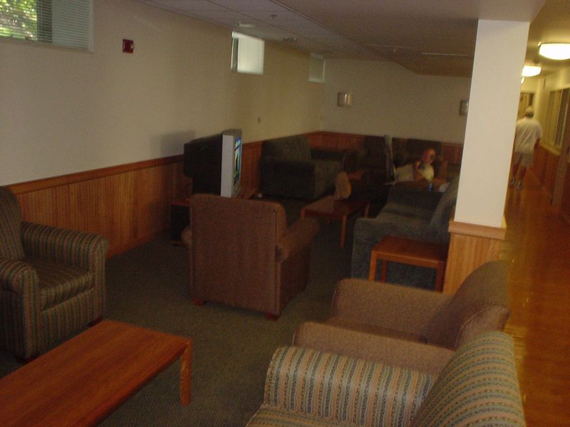 The lounge.