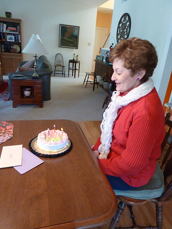 Mom's 75th bday