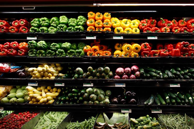 Produce Shelves