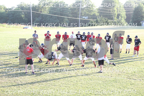 Odessa Football Camp 7-19-13