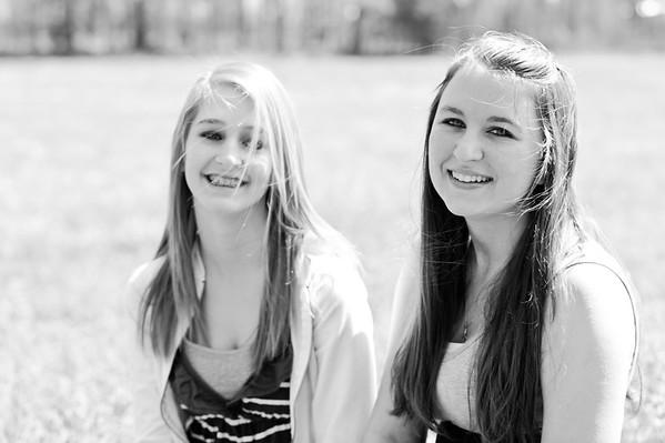 Rachel and Cailin