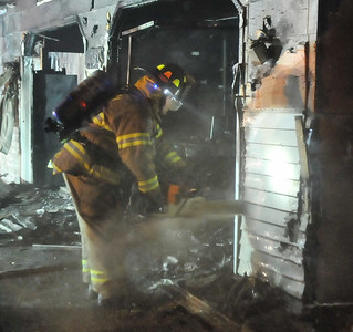 Darby Road Structure Fire