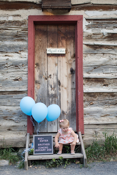 Sill Baby Announcement