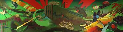 Tim Clorius Windham High School mural