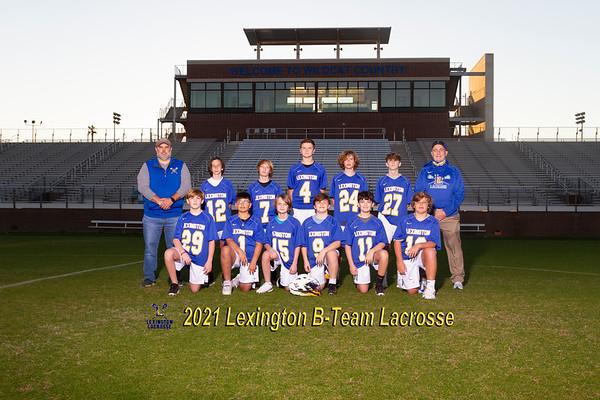 2021 Boys B-team lacosse