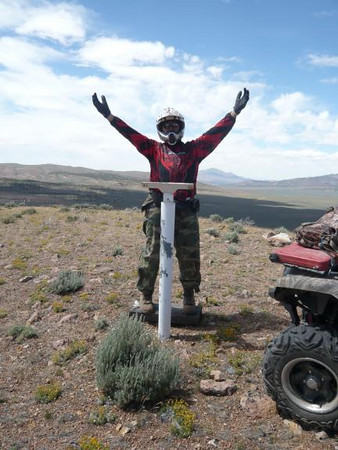 Ride from Boca/Stampede to Moon Rocks, NV