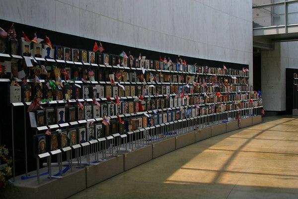 Arlington Cemetary - Faces of the Fallen Memorial