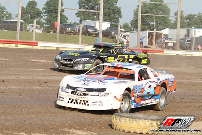 Utica-Rome Speedway-King of Dirt 358 Modified and Sportsman Series-Bill McGaffin-July 1, 2018