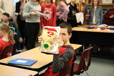 Monsters come to life at Scott Middle School