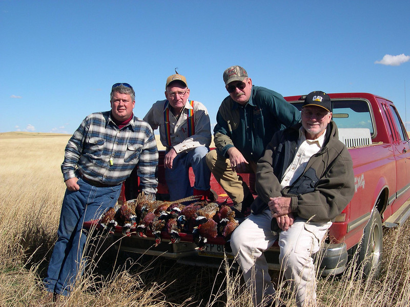 Bill's group: Opening day.