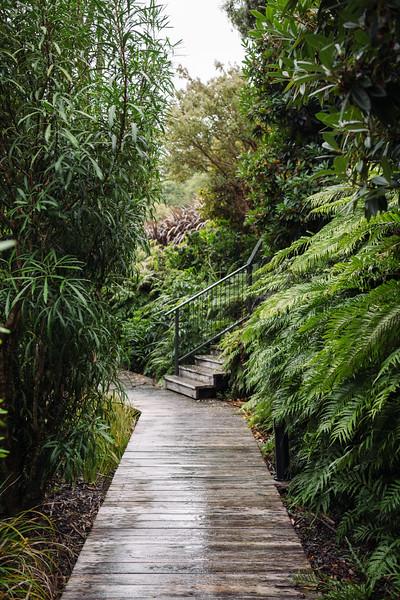 Boardwalks to your Villa