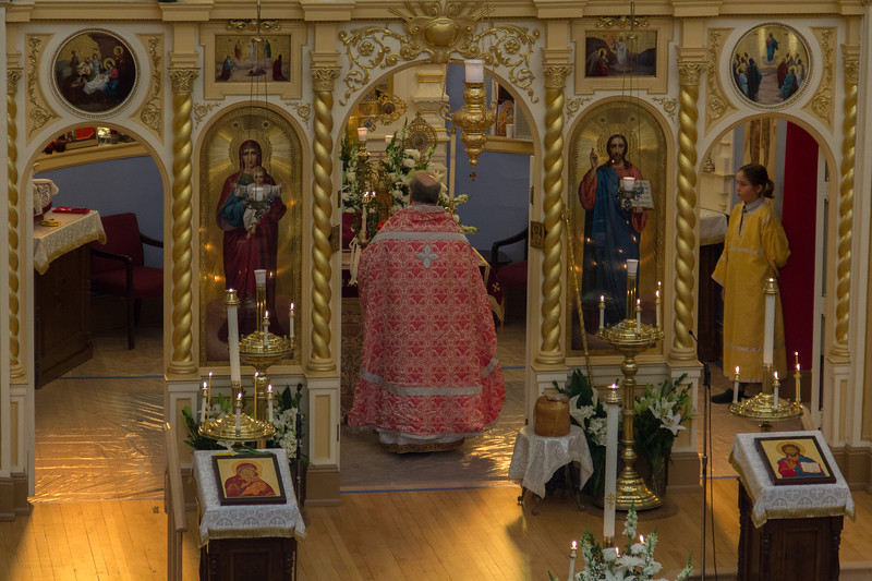 Bright Monday Divine Liturgy 2016
