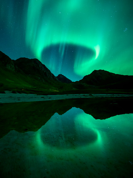 Aurora Northern Lights Lofoten reflection mountain 3.jpg