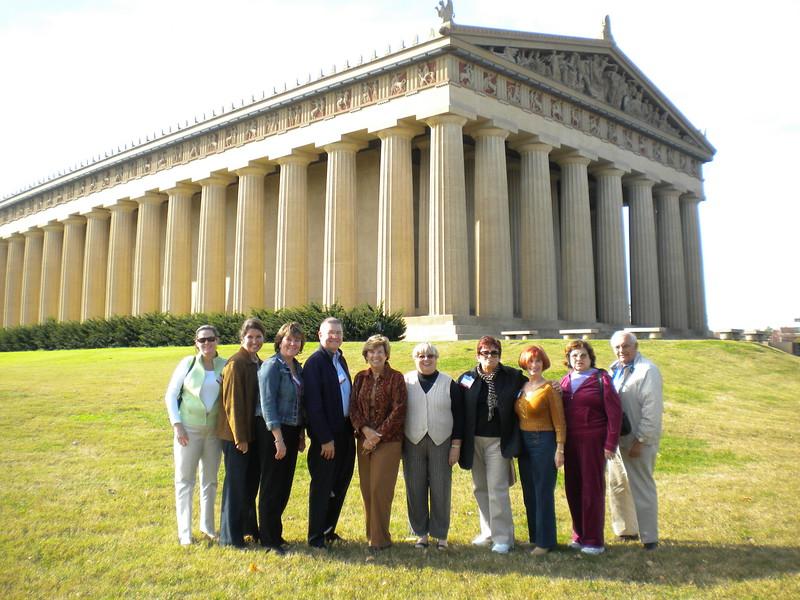 AAA-CPA Spouse Tour - Parthenon