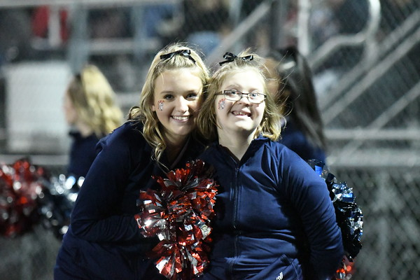 Cheer at Varsity Football vs Skutt