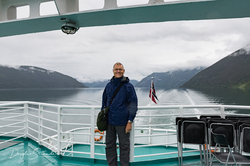 Doug on the Fjord
