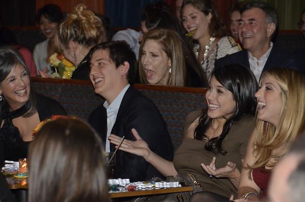 Dec 2, 2012 - Julia and David's Engagement Party at Caroline's Comedy Club
