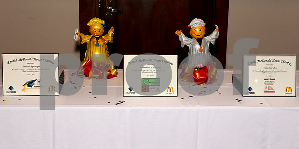 Ronald McDonald's House Charties Scholarship Ceremony: Indpl's, Ind