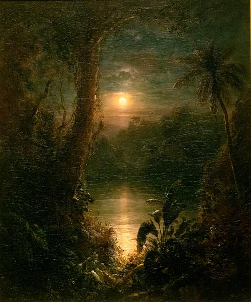 Twilight in the Tropics, Frederic Edwin Church