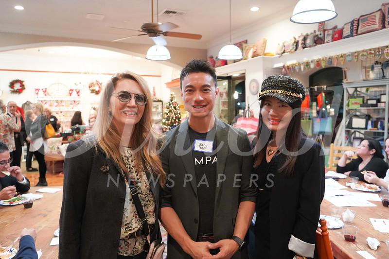 Fary Yassamy with Gary and Lei Wat