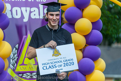 Caelen Graduation Drive Thru June 25 2020