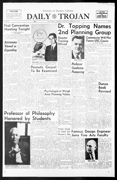 Daily Trojan, Vol. 57, No. 69, February 16, 1966