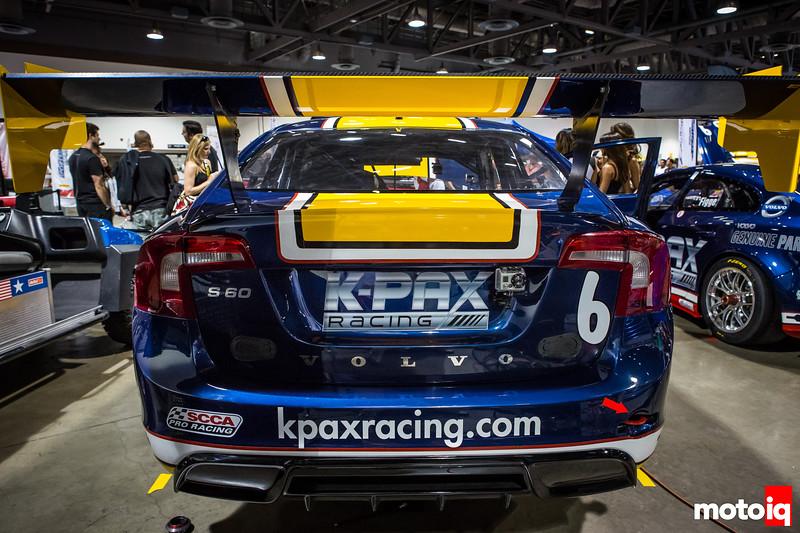 Nerd's Eye View: K-PAX Racing Volvo S60 rear wing diffuser