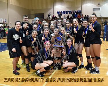 Girls Berks County Volleyball County Championship - Berks Catholic vs Governor Mifflin