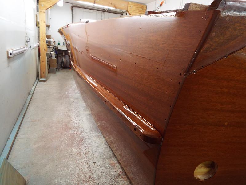 Rear port side view.