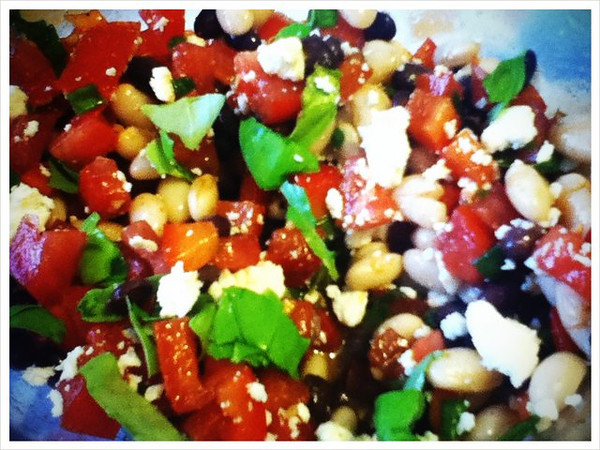 Day 10: Southwest bean salad = yum