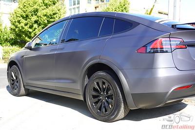 2019 Tesla Model X - Midnight Silver Metallic - XPEL Stealth