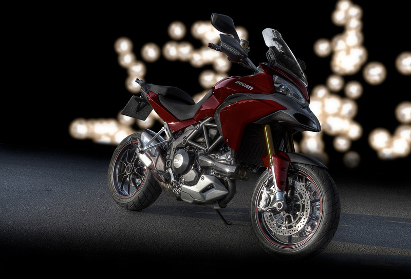 Photoshop image of his Multistrada 1200 by German rider 'Orish' - Multistrada.eu and Ducati.ms member
