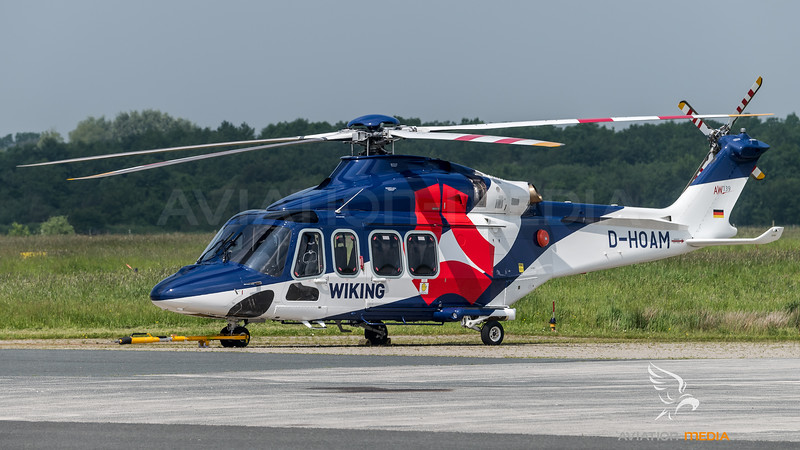 Wiking Helicopter Service / Agusta-Westland AW-139 / D-HOAM