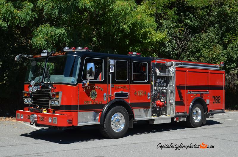 Tamaqua (Citizens Fire Co.) Engine 782: 2013 KME Predator Panther 2000/600/20